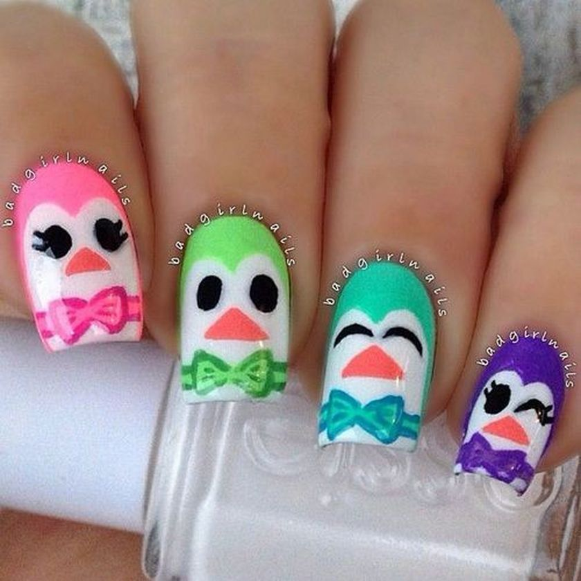 Adorable Cute Nail Art for Girl Kids that You Must Try | Acrylic ...