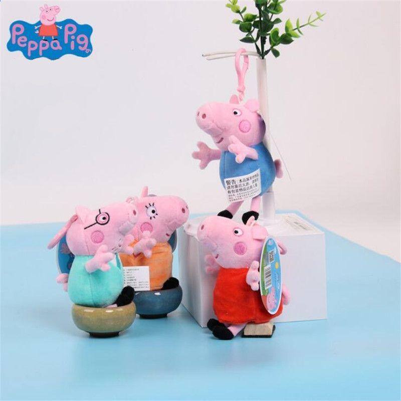 Peppa Pig George Knuffels Peppa Familie Gevulde Doll Peppa