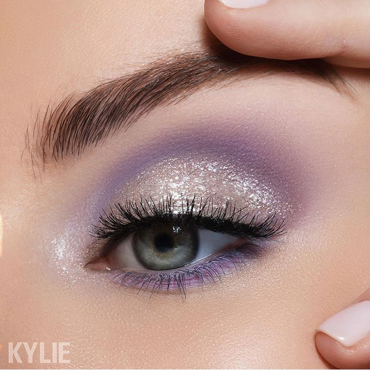 Lilac Eye Kylie Calm Before The Storm Palette Lilac