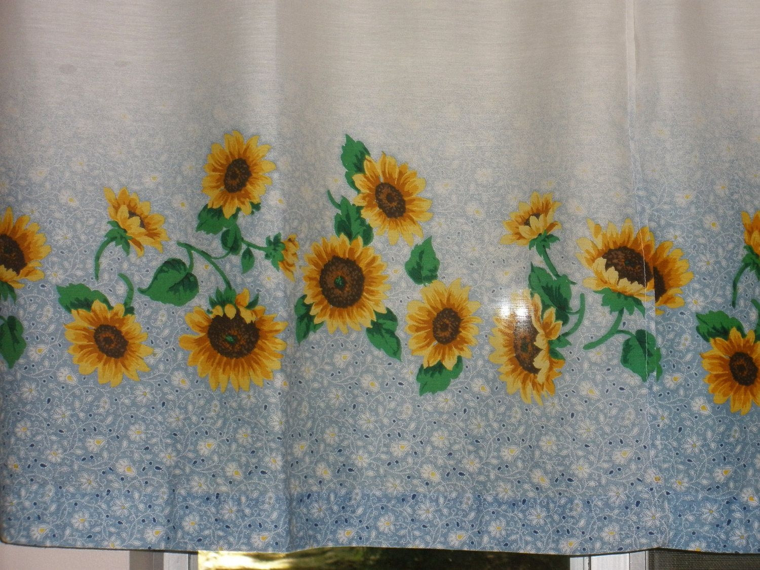 Blue And Yellow Kitchen Curtains   Bing Images