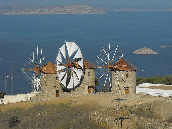 Windmills - The Greek Islands Paradise....