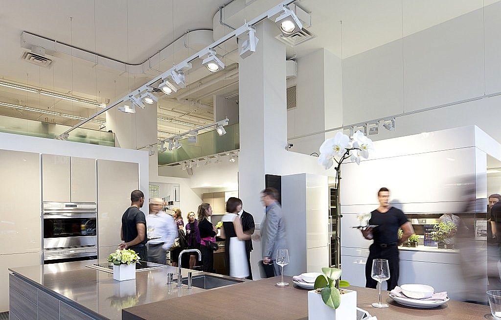 Poggenpohl showroom, Park Avenue Design hits the