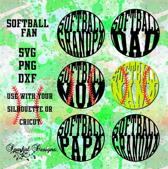 Softball Mom SVG Cut File Sport SVG File by SparkalDigitalDesign #SportSVG #SoftballSVG