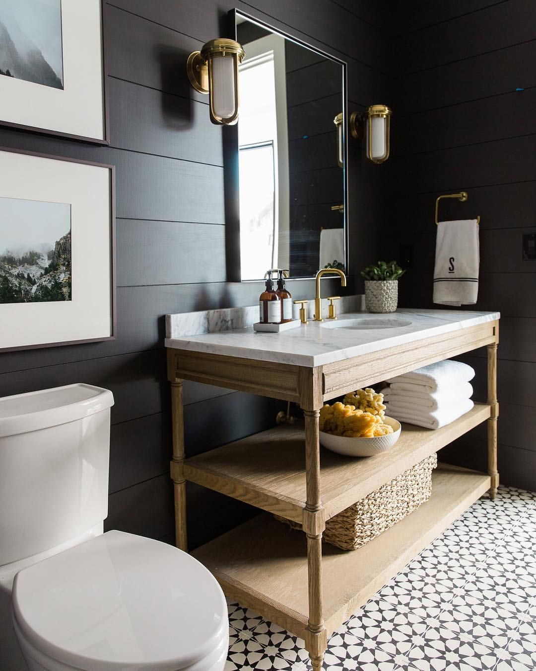2 447 Likes 32 Comments Studio Mcgee Studiomcgee On Instagram We Re Sharing Our Favorite Freesta Bathroom Interior Small Space Bathroom Bathroom Design