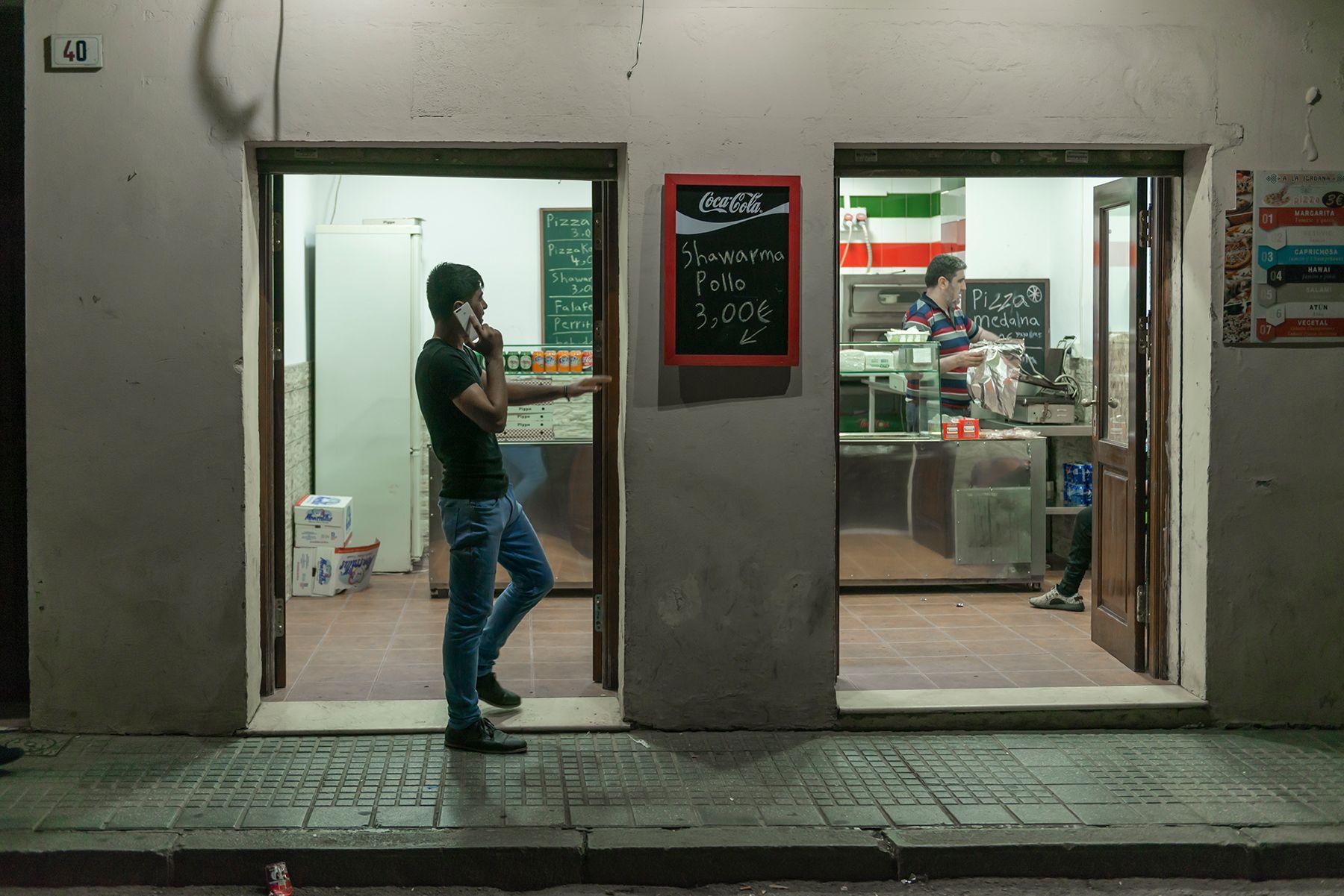 El shawarma