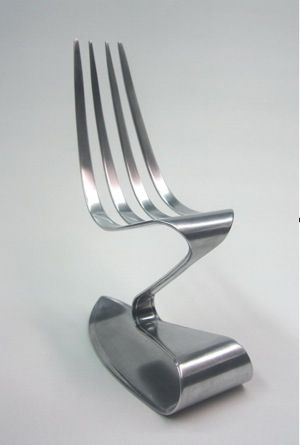 Fork Chair Design Fork Food Stoelen Designer Stoel