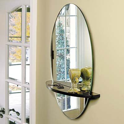 10 Kitchen And Bath Space Savers Mirror Wall Oval Mirror Bathroom Oval Wall Mirror
