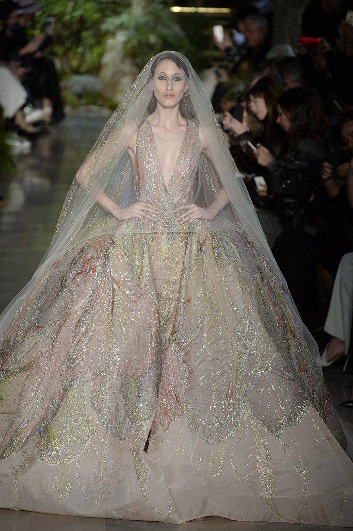 Pin for Later: Die schönsten Couture Brautkleider Elie Saab Haute Couture Frühjahr/Sommer 2015