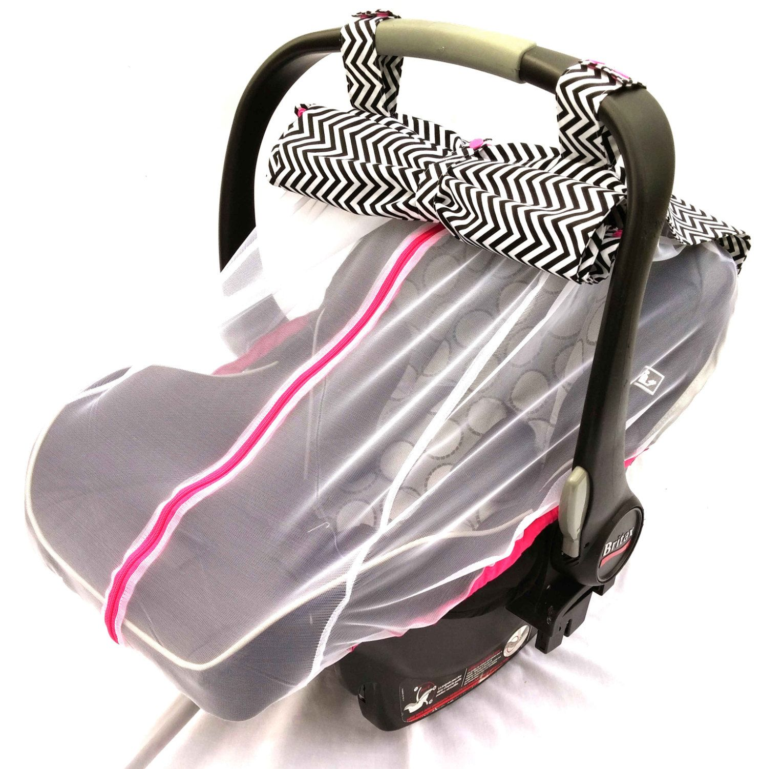 Summer Car Seat Cover With A Front And Back Lift Able Flap