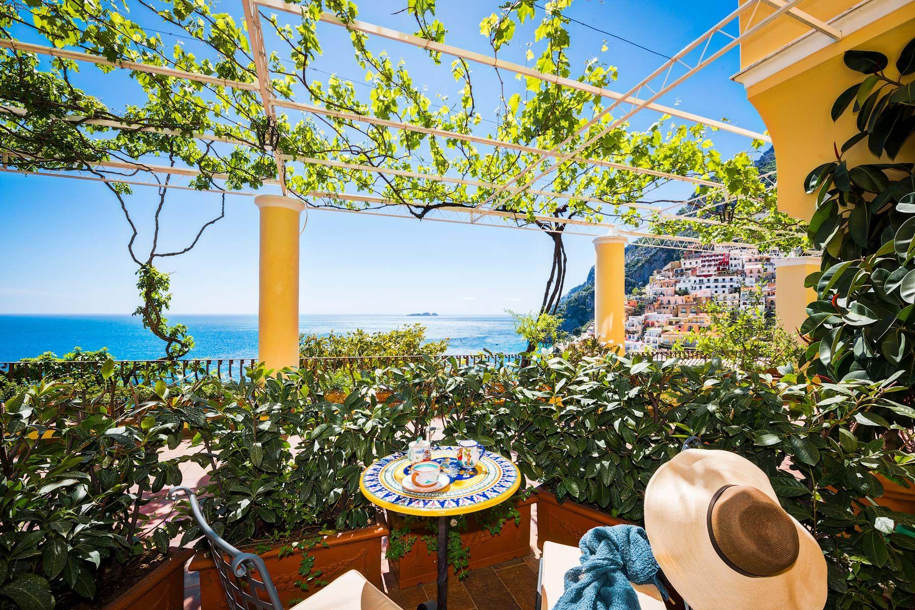 Hotel California Positano best sea view rooms in amalfi
