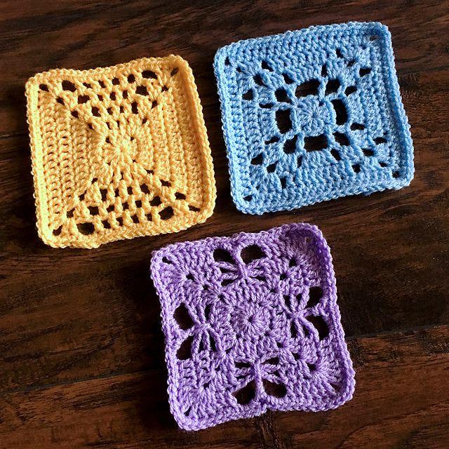 Delton Square pattern by Rachele Carmona | АЙ | Pinterest ...