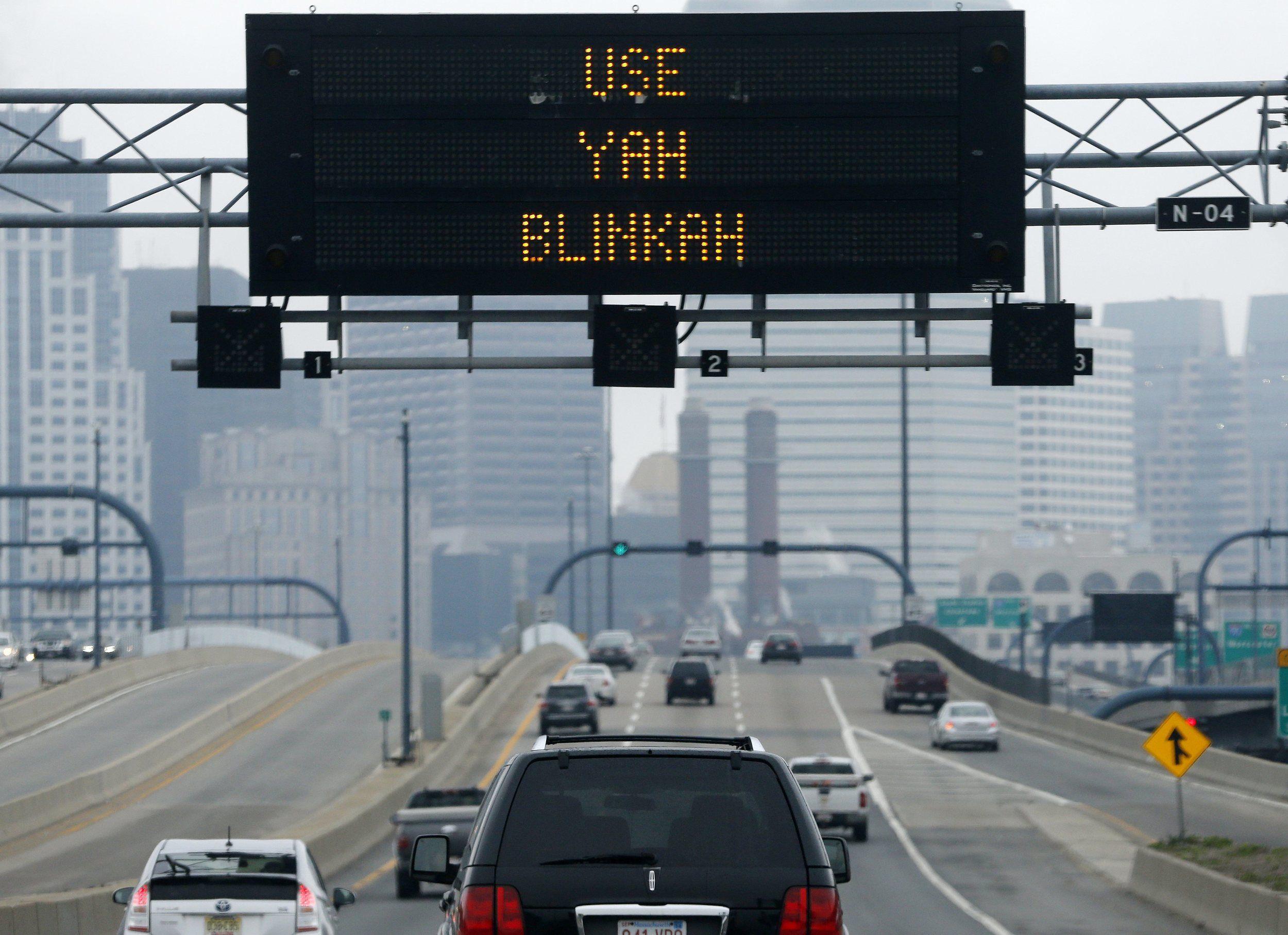 Boston drivers urged to 'Use Yah Blinkah' Boston