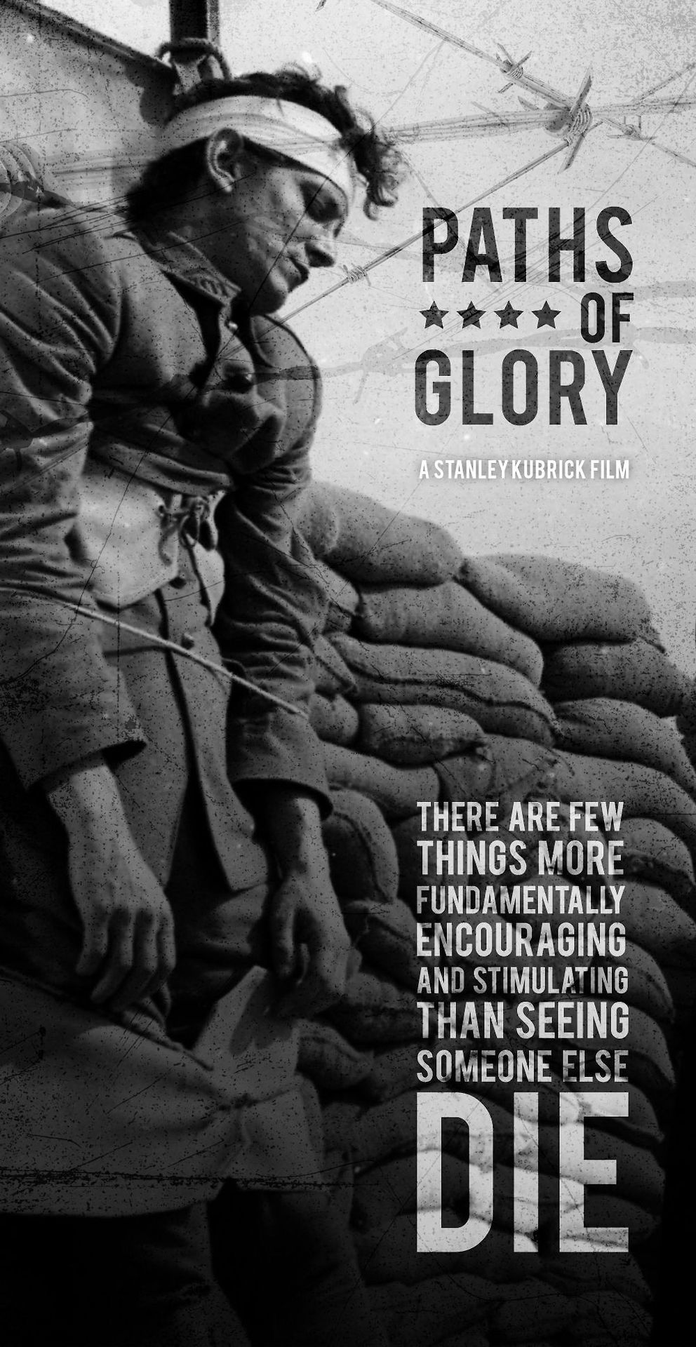 Paths of glory poster film posters art alternative