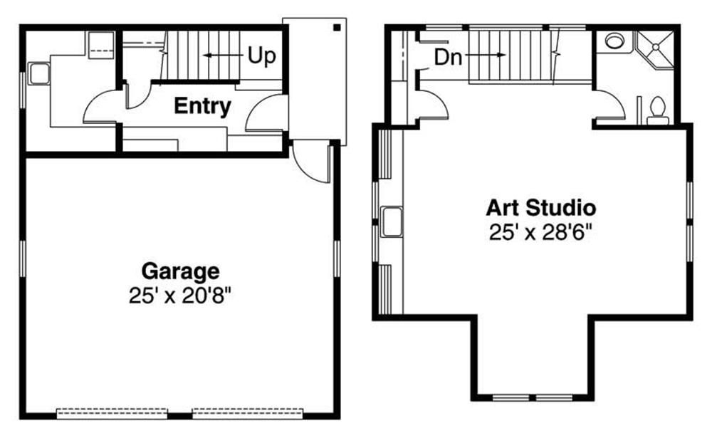 Garage Floor Plan ADI 20 007