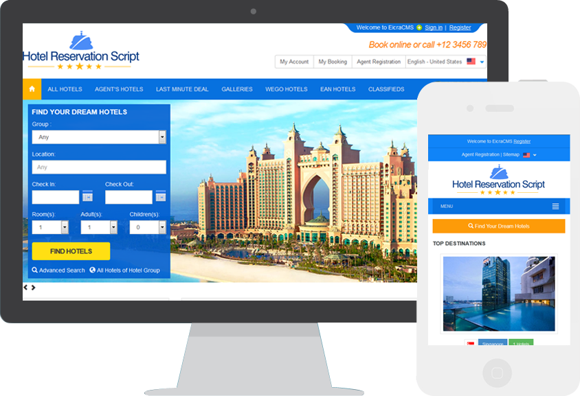 Hotel Booking System is an online hotel reservation system