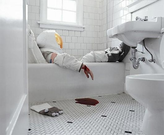 Astronaut Suicides by Neil DaCosta and Sara Philipps I Art Sponge