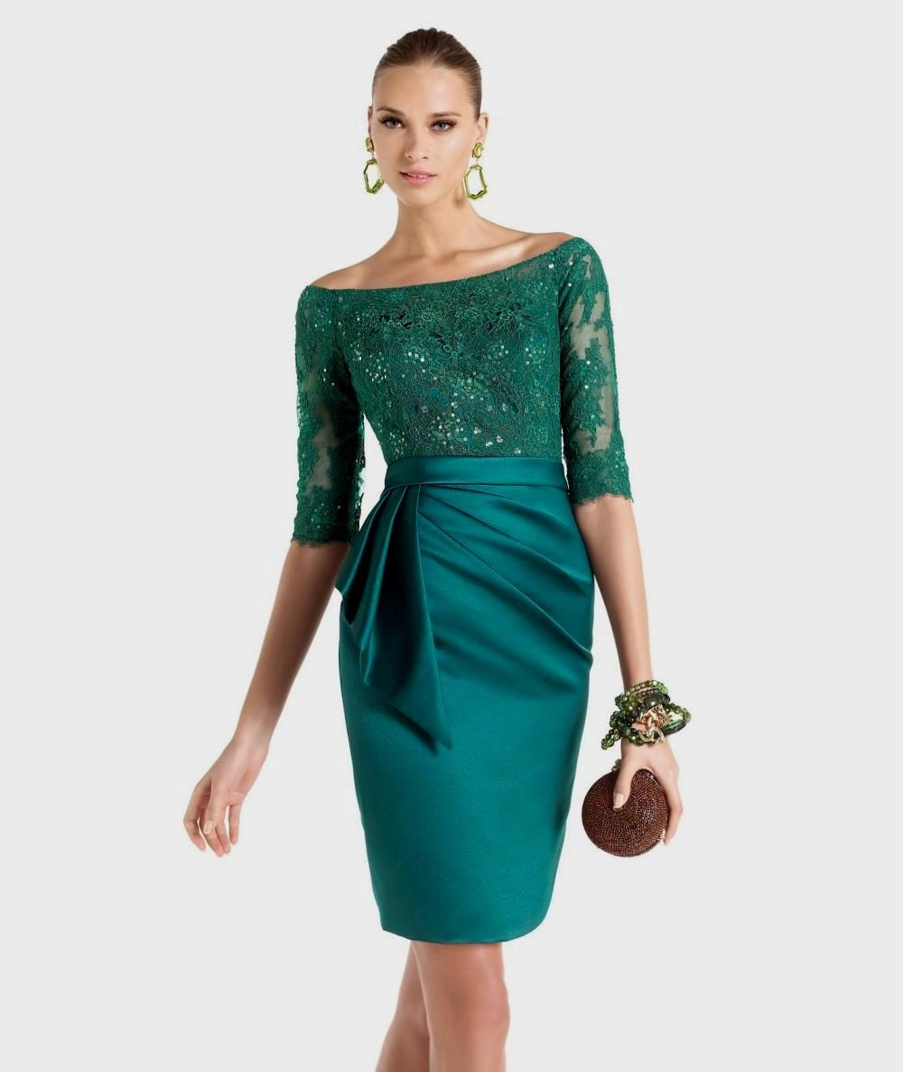Wholesale Emerald Green Cocktail Dress - Buy Cheap Emerald Green ...
