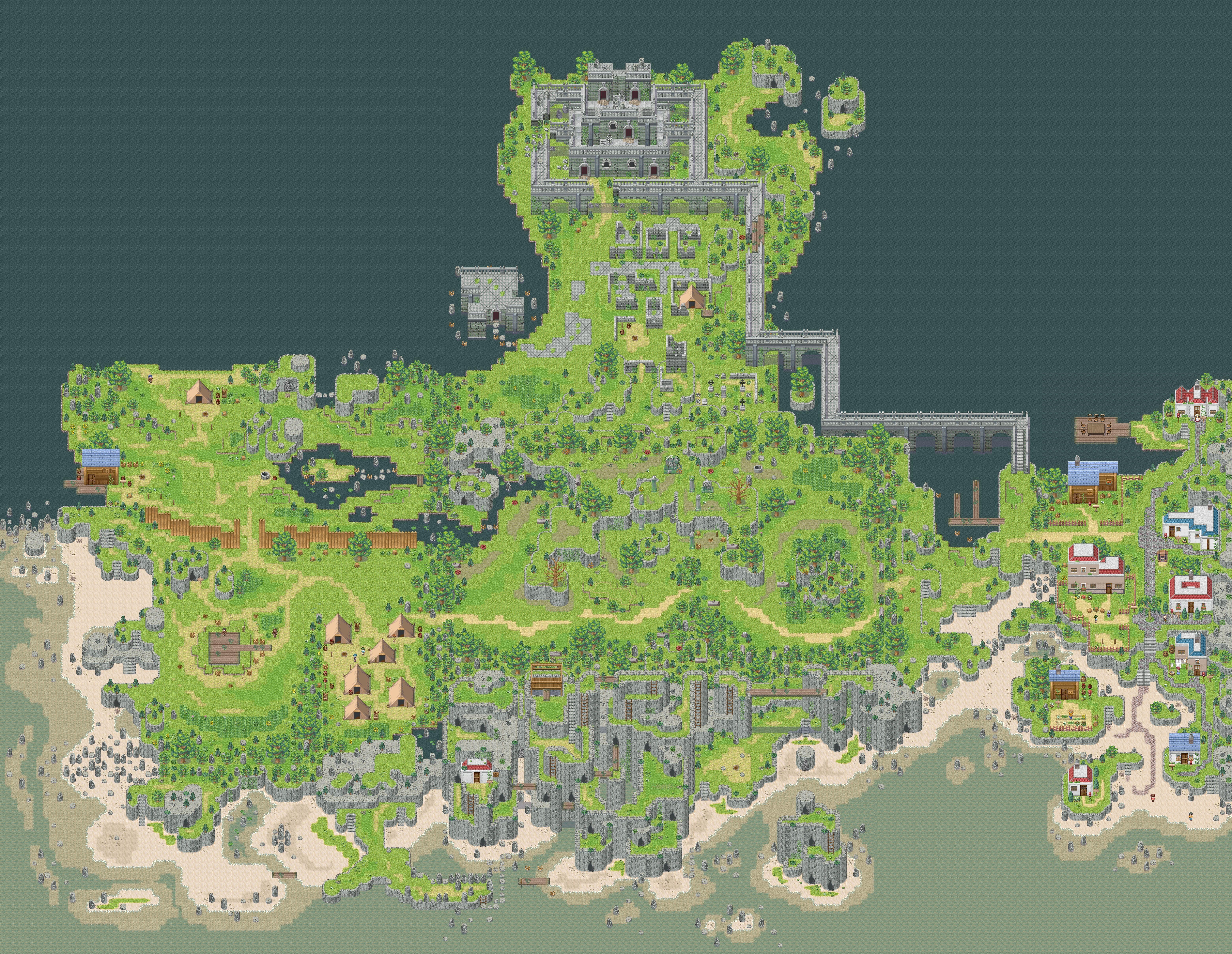 RPG Makers custom abbey   Indie game art, Pixel art, Rpg