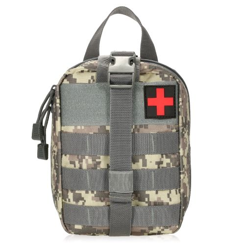 Lixada Outdoor MOLLE Medical Pouch Botiquín de primeros auxilios ...
