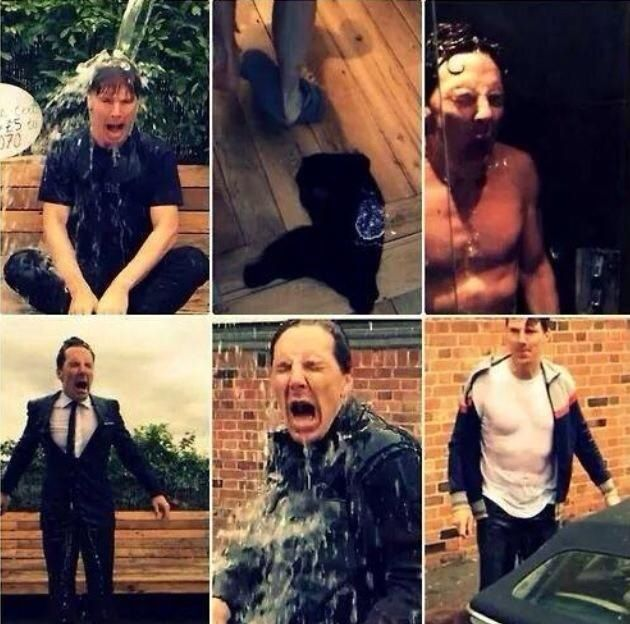 And the Oscar for Best Ice Bucket Challenge goes to . . .