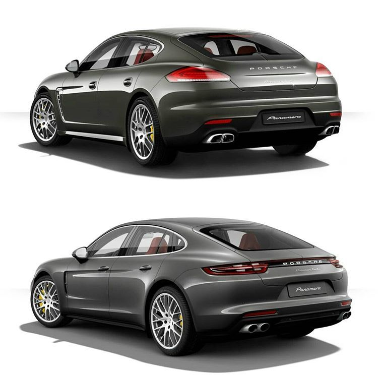 Old VS New 1st gen #PorschePanamera VS #2017 model #porsche ... O Ld Porsche Vs New on