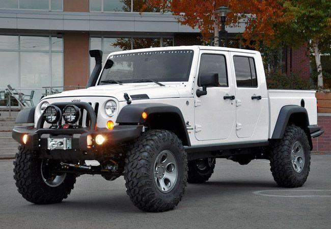 Aev Brute Double Cab Jeep Brute Jeep Pickup Jeep