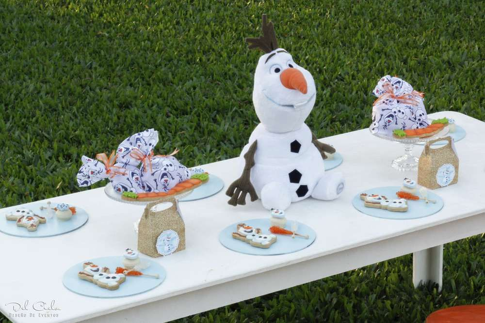 Frozen disney birthday party ideas photo 3 of 20
