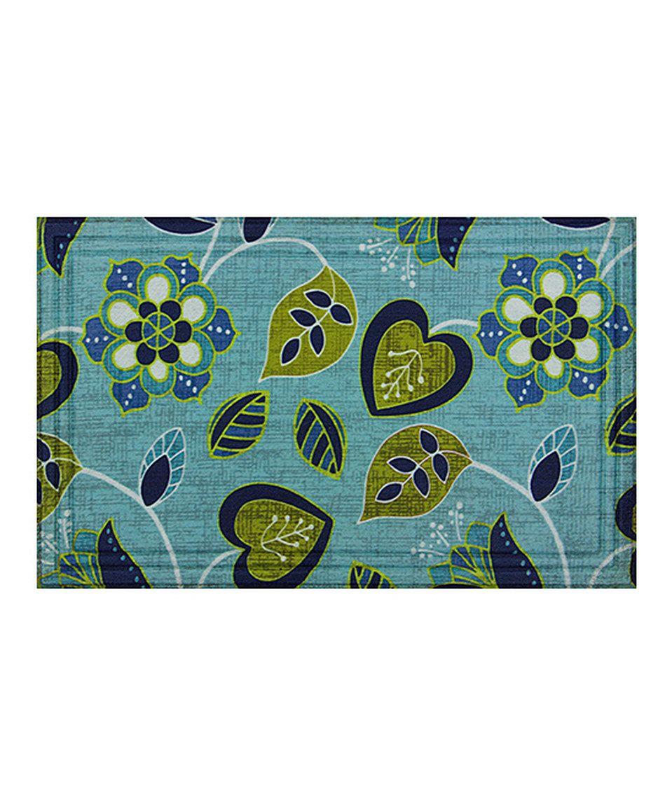 Another great find on #zulily! Floral Vine Doormat by Apache Mills #zulilyfinds