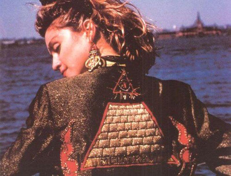 Madonna   Desperately seeking susan, Vestuario de los 80s