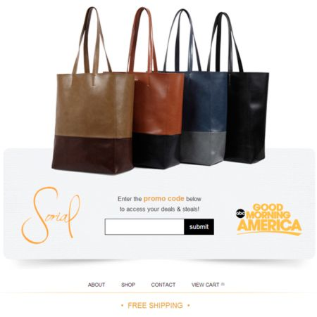 Sorial Handbags On Gma