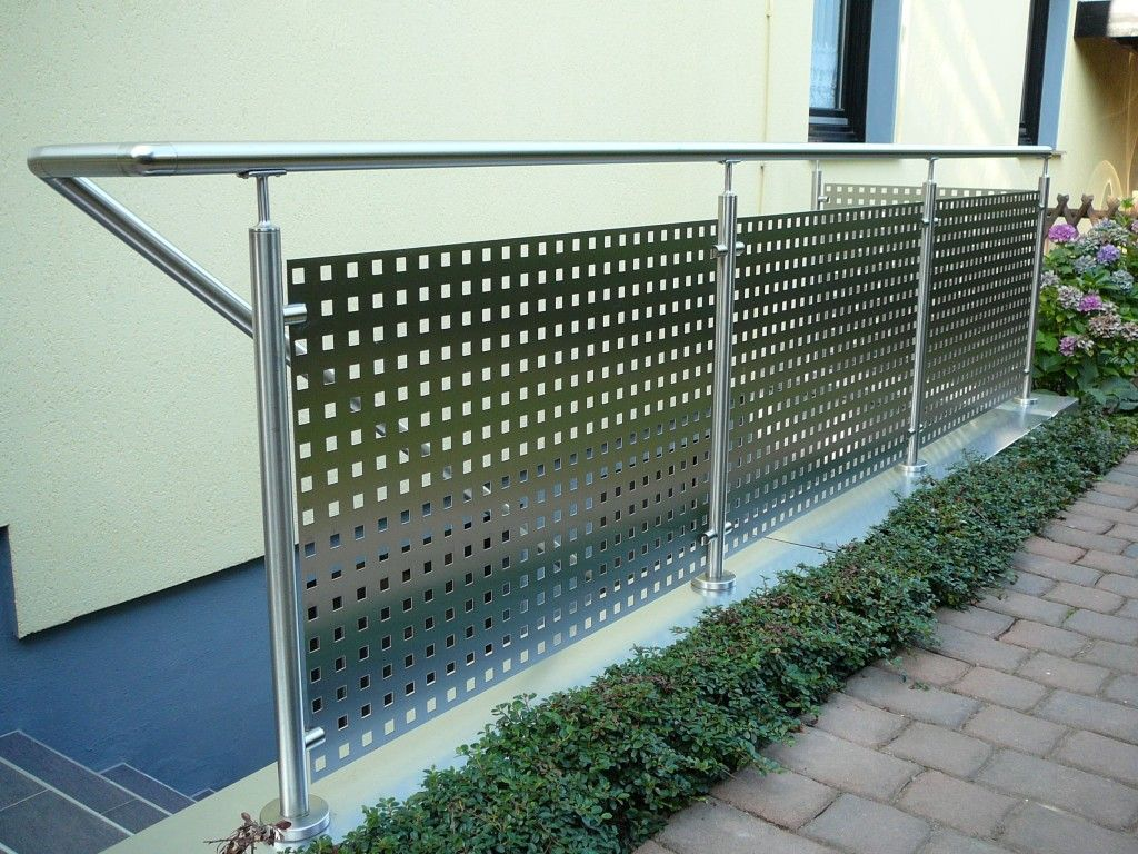 25+ Best Ideas About Geländer Balkon On Pinterest | Deck Geländer ... Gelander Am Balkon Bauen