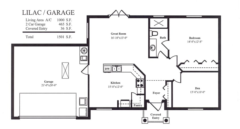 Garage Floor Plans Floor Plans Pinterest Guest houses Guest