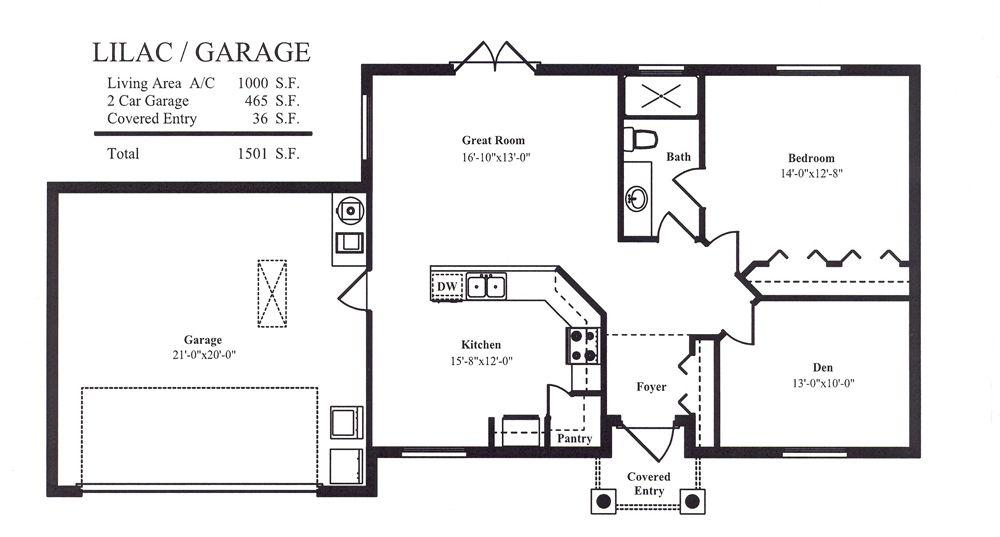 Enjoyable Garage Floor Plans Floor Plans Pinterest House Plans Garage Largest Home Design Picture Inspirations Pitcheantrous