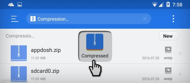 See How To Compress Your Files And Create Zip Archives Using Es File