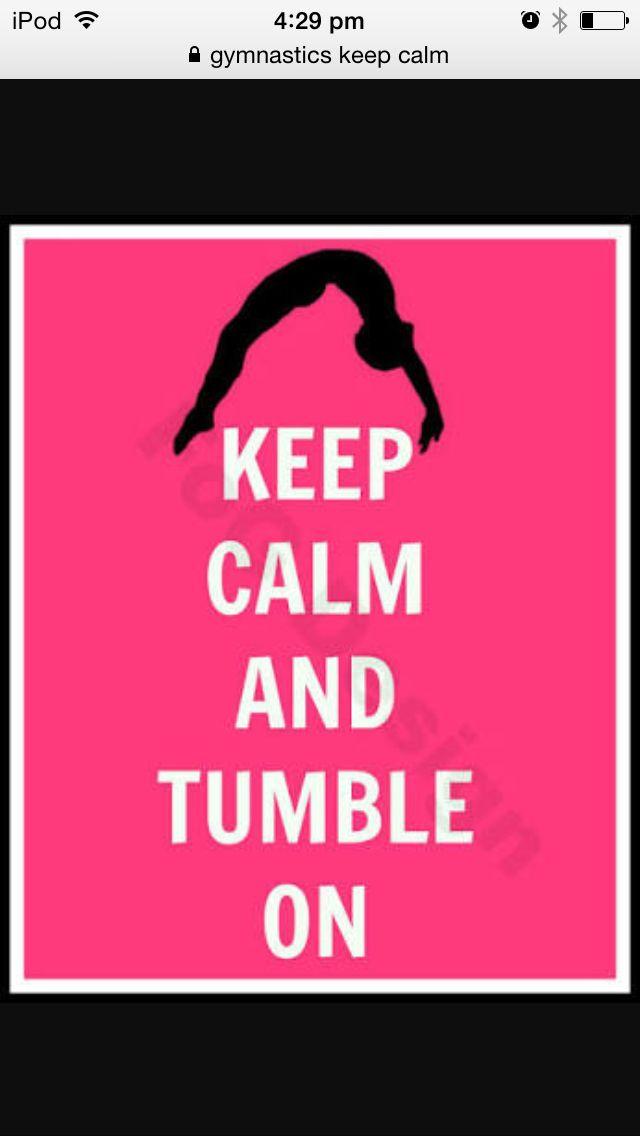 Gymnastics keep calm