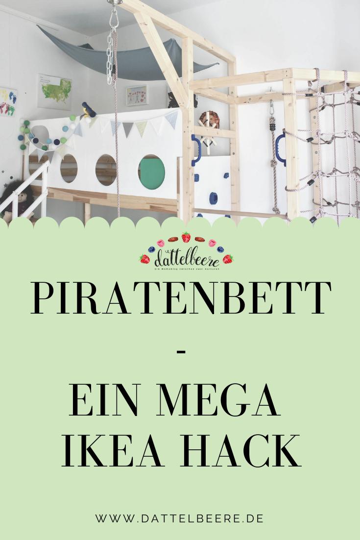 Piratenschiffbett Diy Ein Mega Ikea Hack Kinder Zimmer Diy Bett Kinderzimmer