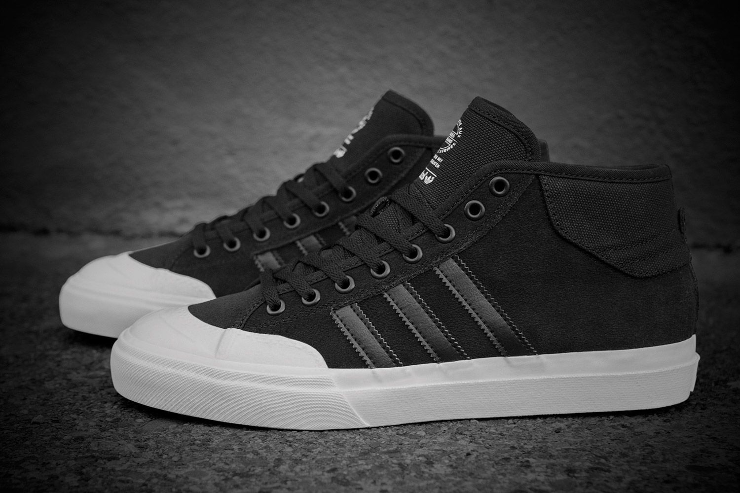 timeless design 31d44 5e41c adidas Skateboarding have released their all-new Matchcourt sneaker. The  model draws inspiration from the classic Nizza silhouette and boasts the  look of a ...