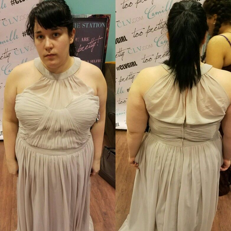 Love This Neckline Group Usa At Jersey Gardens Mall Bridesmaid