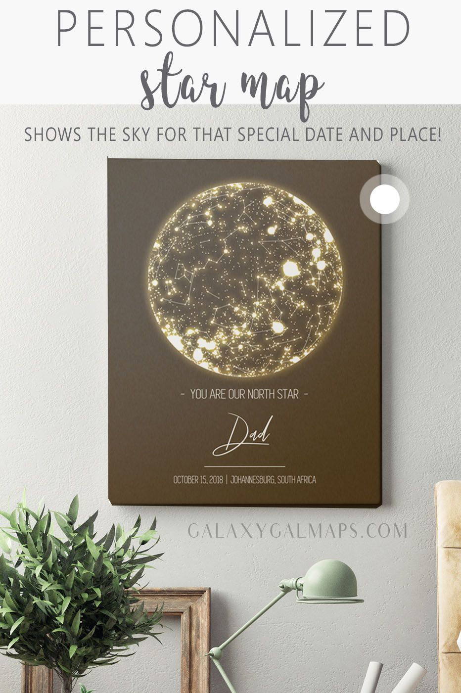 Your Personal Star Chart By Date 10 Year Anniversary Date Married Date Stars Personalise File A In 2020 10 Year Anniversary Best Gifts For Her State Of Tennessee