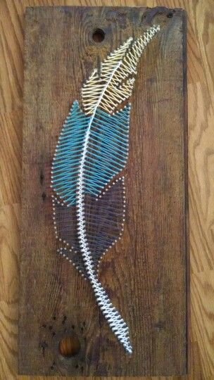 Image Result For Feather String Art Pattern Yw Pinterest