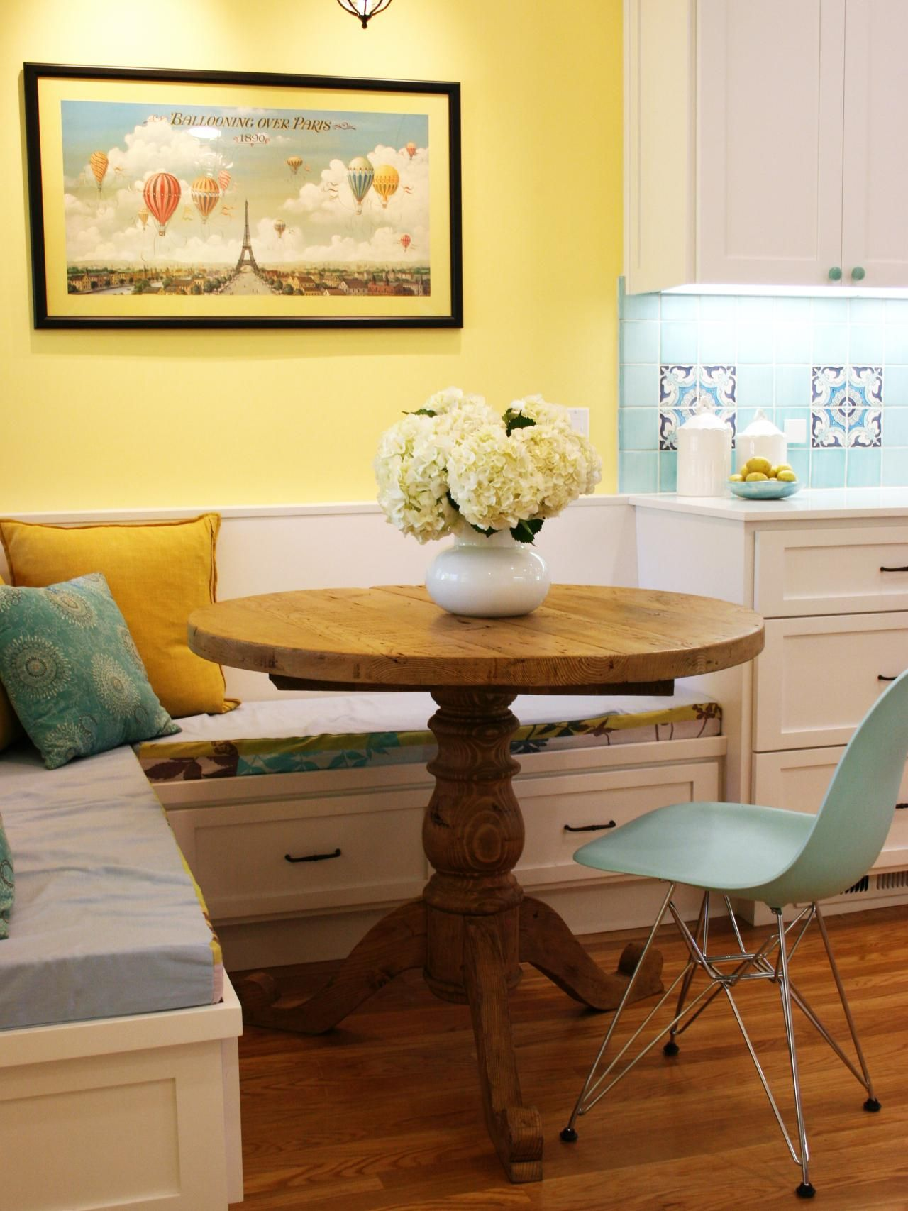 Share Your Breakfast In Charming Kitchen Banquette Corner Banquette Seating For Kitchen