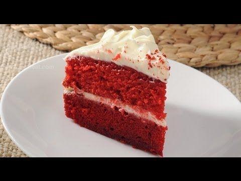 الكعكة الحمراء المخملية رد فلفت كيك تسلم الأيادي 3 فتافيت Desserts Food Recipes