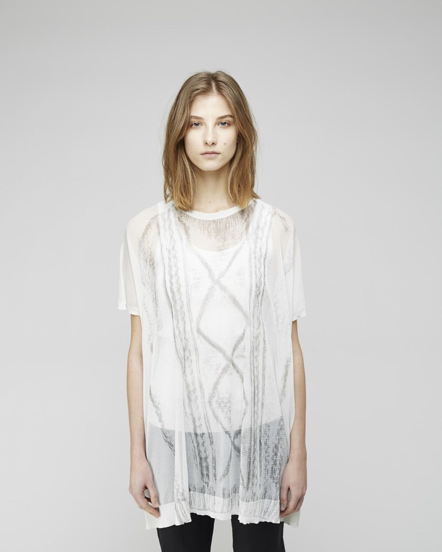 Maison Martin Margiela Line 1 / Chalk Print Knit