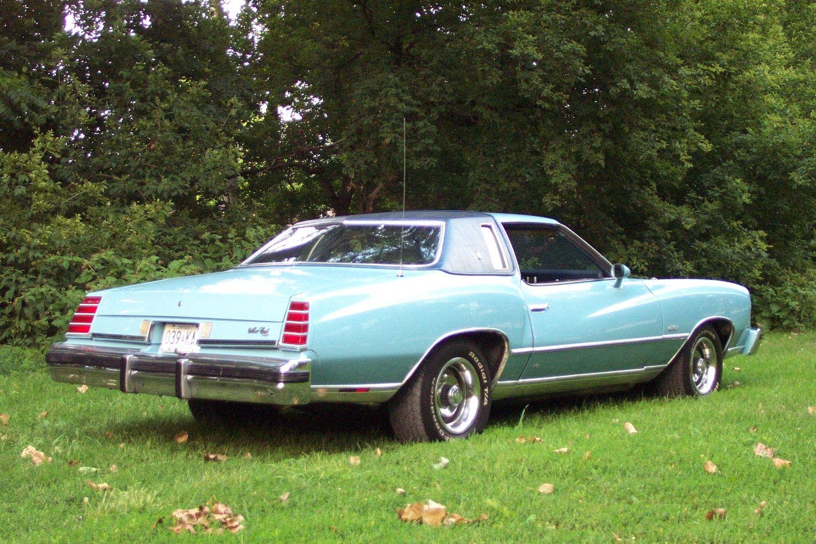 1975 Chevrolet Monte Carlo Chevrolet Monte Carlo Chevrolet