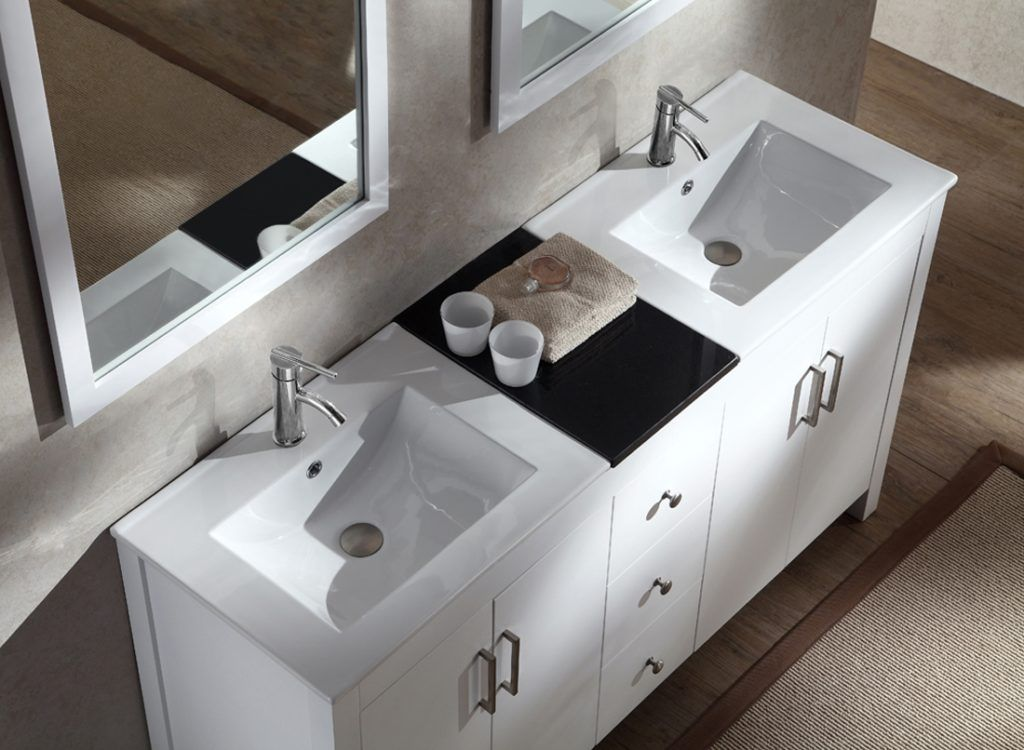 18 Inch Depth Double Sink Bathroom Vanity Small Bathroom Vanities Bathroom Vanities For Sale Bathroom Vanity
