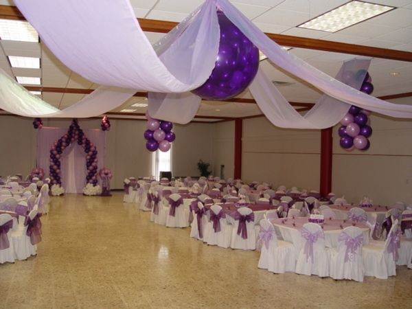 Decoraciones de iglecias para quinceaneras de cada for Decoracion quinceanera