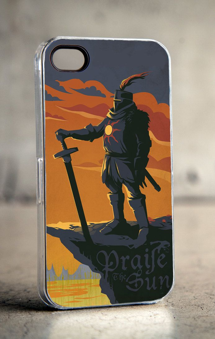 Souls Solaire of Astora iphone case