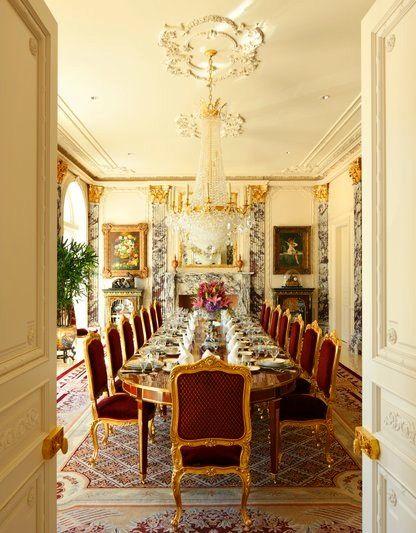 Grand Mansion Interiors Google Search Luxury Dining Room Decor Luxury Dining Room Elegant Dining Room