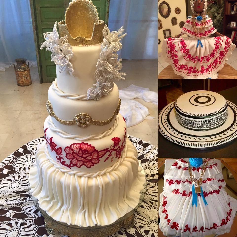 Cakes Inspirados En La Pollera Panama Moda Estilizado