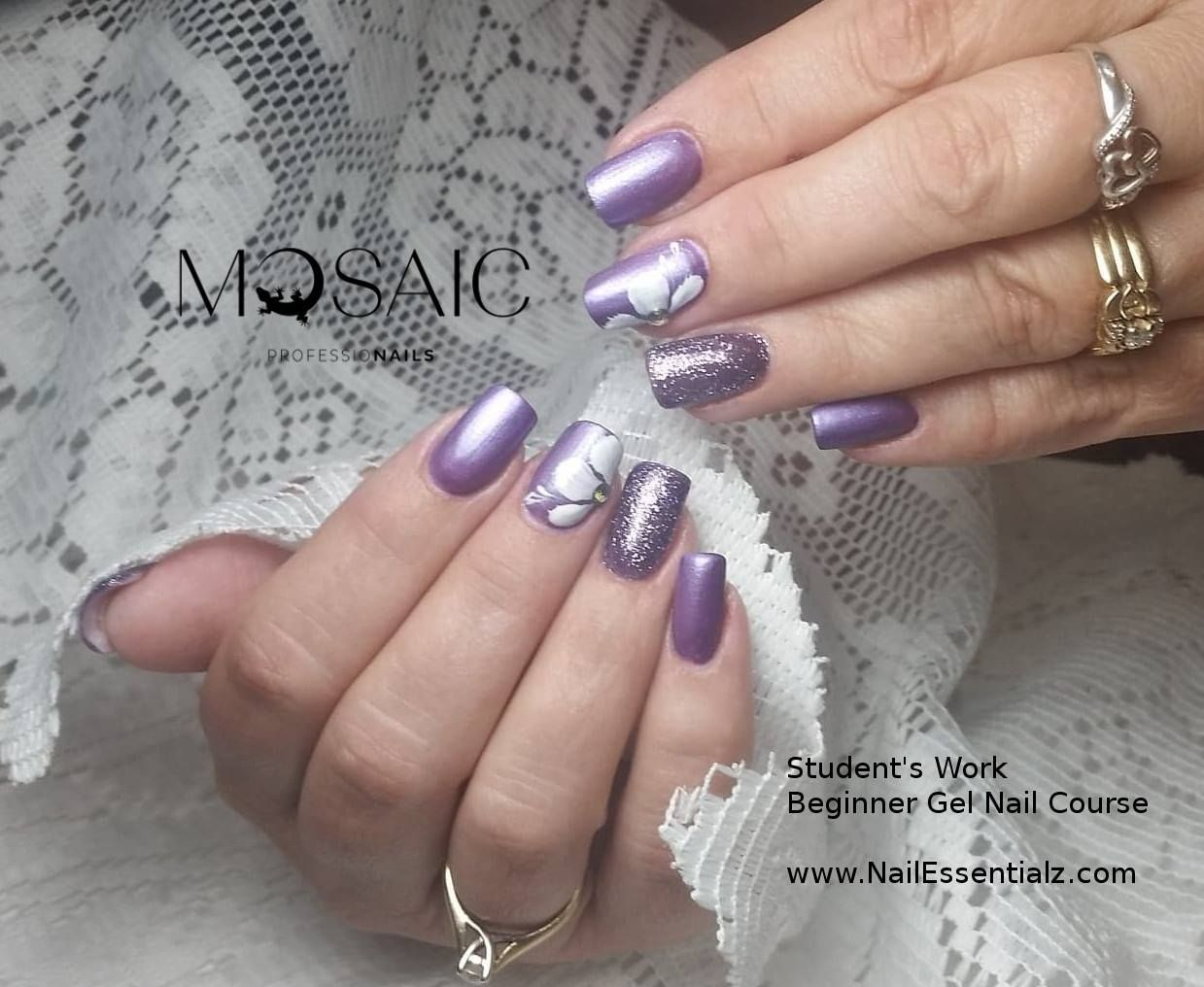 Student Work Beginner Gel Nail Course Please contact us to